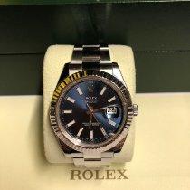 Rolex Datejust II Acier 41mm Bleu Sans chiffres France, paris