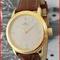 Rolex Gold/Steel 40mm Silver Arabic numerals