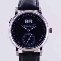 A. Lange & Söhne Langematik White gold 37mm Black No numerals