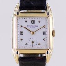 Patek Philippe Vintage Yellow gold 27mm Silver Roman numerals