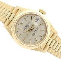 Rolex Lady-Datejust Oro amarillo 26mm Plata Sin cifras