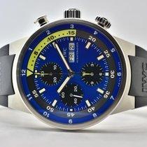 IWC Aquatimer Chronograph Stahl 42mm Blau Keine Ziffern