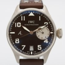 IWC Big Pilot nou 2015 Atomat Ceas cu cutie originală și documente originale IW500420