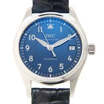IWC Pilot's Watch Automatic 36 Staal 36mm Blauw