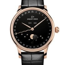 Jaquet-Droz Rose gold Automatic Black No numerals 43mm new Astrale