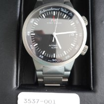 IWC Titanium Automatic Black No numerals 40mm pre-owned GST