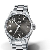 Oris Big Crown ProPilot Date Steel 41mm Grey Arabic numerals