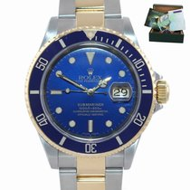 Rolex Submariner Date Gold/Steel 40mm Blue United States of America, New York, Huntington
