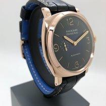Panerai Radiomir 1940 3 Days Automatic Aur roz 45mm Albastru Arabic