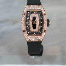 Richard Mille RM 07 Rose gold 45.66mm Transparent No numerals