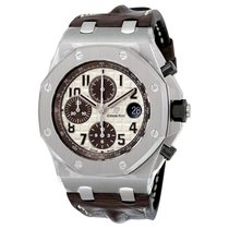 Audemars Piguet Royal Oak Offshore Chronograph Steel 42mm Champagne Arabic numerals United States of America, New York, Scarsdale