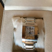 Montblanc Profile pre-owned 34mm Silver Chronograph Date Steel