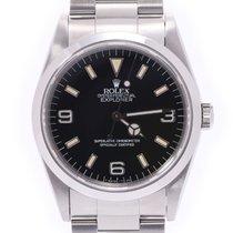 Rolex Explorer Stahl 35mm Schwarz