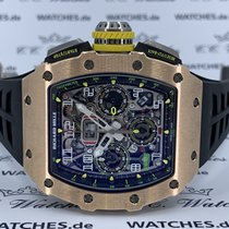 Richard Mille Rose gold 44.5mm Automatic RM11-03 RG new
