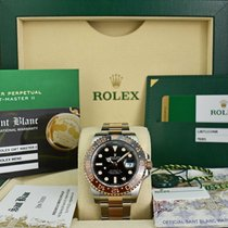 Rolex Oro rosa Negro 40mm usados GMT-Master II
