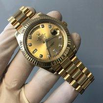 Rolex Day-Date II Zuto zlato 41mm Zlatan Rimski brojevi