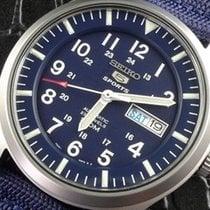 Seiko Reloj nuevo 2019 Acero 42mm Arábigos Automático Reloj con estuche y documentos originales