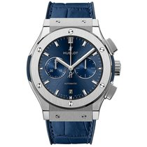 Hublot Classic Fusion Blue Titanium 45mm Blue No numerals United States of America, New York, New York
