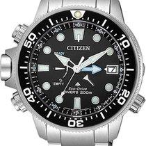 Citizen Promaster Marine Ocel 46,5mm Černá Bez čísel