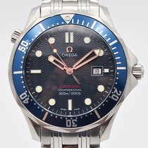 Omega 2221.80.00 Steel 2008 Seamaster Diver 300 M 41mm pre-owned