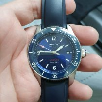 Bremont Supermarine pre-owned 40mm Blue Rubber