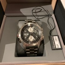 Hamilton Khaki X-Wind rabljen 44mm Crn Kronograf Zeljezo