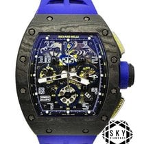 Richard Mille RM 011 Titanium 50mm Transparent Arabic numerals United States of America, New York, New York