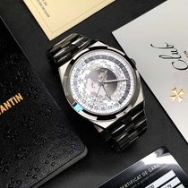 Vacheron Constantin Overseas World Time Steel 43.5mm Silver United States of America, California, Sunnyvale