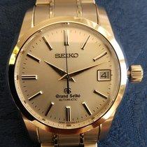 Seiko Titanium Automatic Silver No numerals 38mm pre-owned Grand Seiko