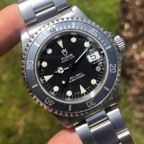 Tudor Submariner Steel Black No numerals United States of America, Massachusetts, Malden
