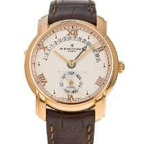 Vacheron Constantin Patrimony Rose gold 37mm Silver Roman numerals United States of America, Maryland, Baltimore, MD