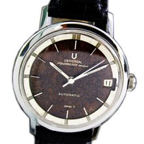 Universal Genève Polerouter Steel 34mm Brown No numerals United States of America, Utah, Draper