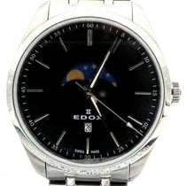 Edox Steel 42mm Quartz 79018-3M-MIN new