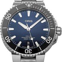 Oris 01 733 7766 4135-07 8 22 05PEB Steel 2020 Aquis Date 41.5mm new