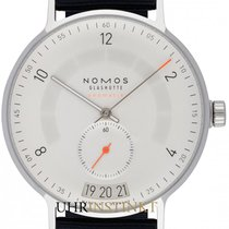 NOMOS Autobahn Staal 41mm Wit