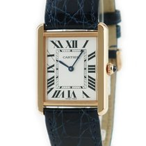 Cartier Tank Solo Rose gold 27mm Silver