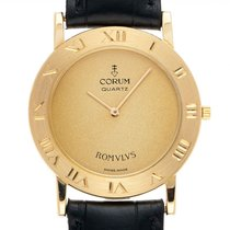 Corum Romvlvs 50.10.156 Très bon Or jaune 30mm Quartz