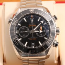Omega Seamaster Planet Ocean Chronograph Stahl 45.5mm Schwarz