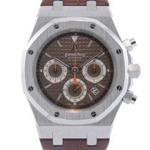 Audemars Piguet Royal Oak Chronograph Witgoud 39mm Bruin