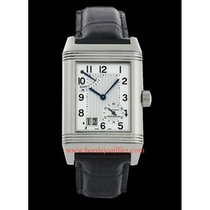 Jaeger-LeCoultre Reverso Grande Date occasion Argent Cuir