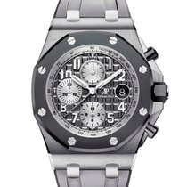 Audemars Piguet Royal Oak Offshore Chronograph Titanio 42mm Gris Arábigos España