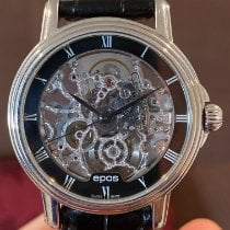 Epos new Automatic 37.5mm Steel Sapphire crystal