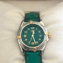 Breitling Wings Lady Steel 31mm Green Roman numerals