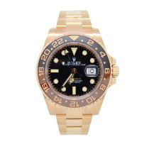 Rolex Rose gold Automatic Black 40mm new GMT-Master II