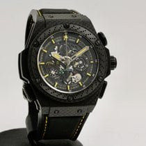 Hublot King Power Carbon 48mm Transparent No numerals