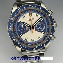 Tudor Heritage Chrono Blue 70330B 2015 pre-owned