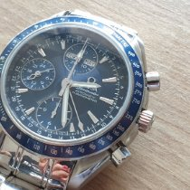 Omega Speedmaster Day Date Steel Blue No numerals