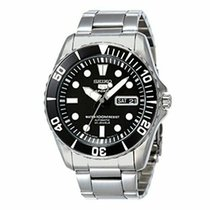 Seiko 5 Sports Steel 40mm Black United States of America, New Jersey, Somerset