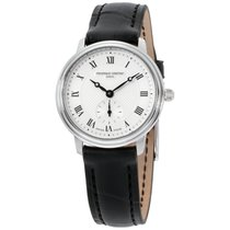 Frederique Constant Slimline Mid Size Steel 28.6mm Silver Roman numerals United States of America, New Jersey, Somerset