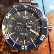 Oris Tubbataha Limited Edition Titanium 46mm Blue No numerals